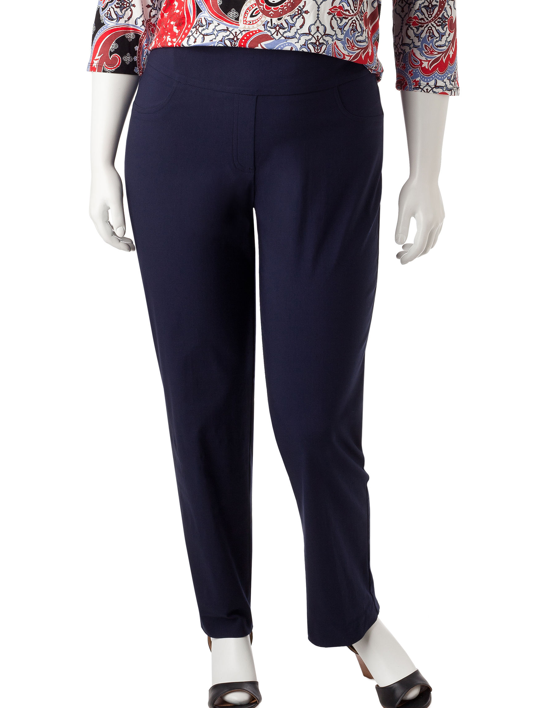 Ruby Road Navy Soft Pants