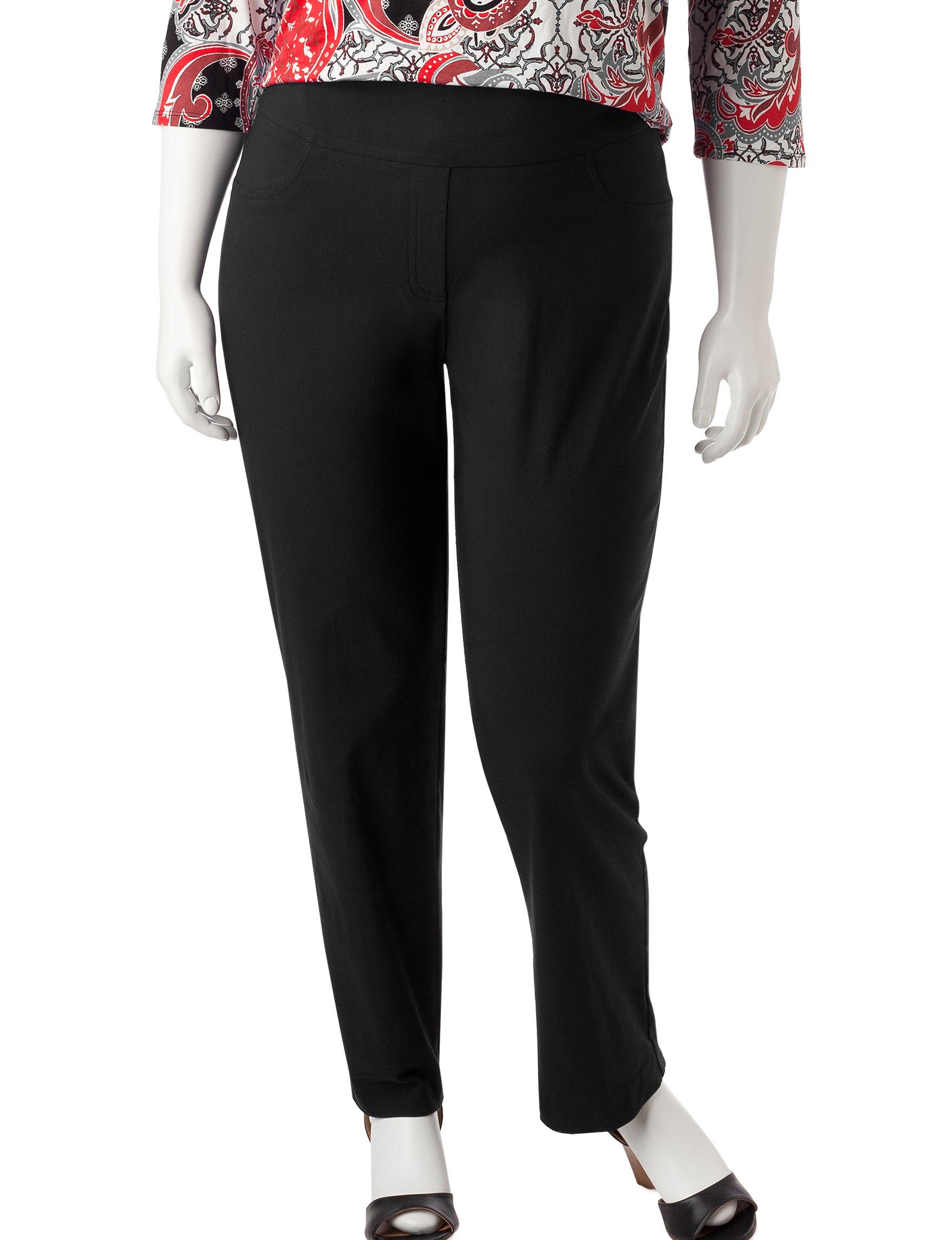 Ruby Road Black Soft Pants