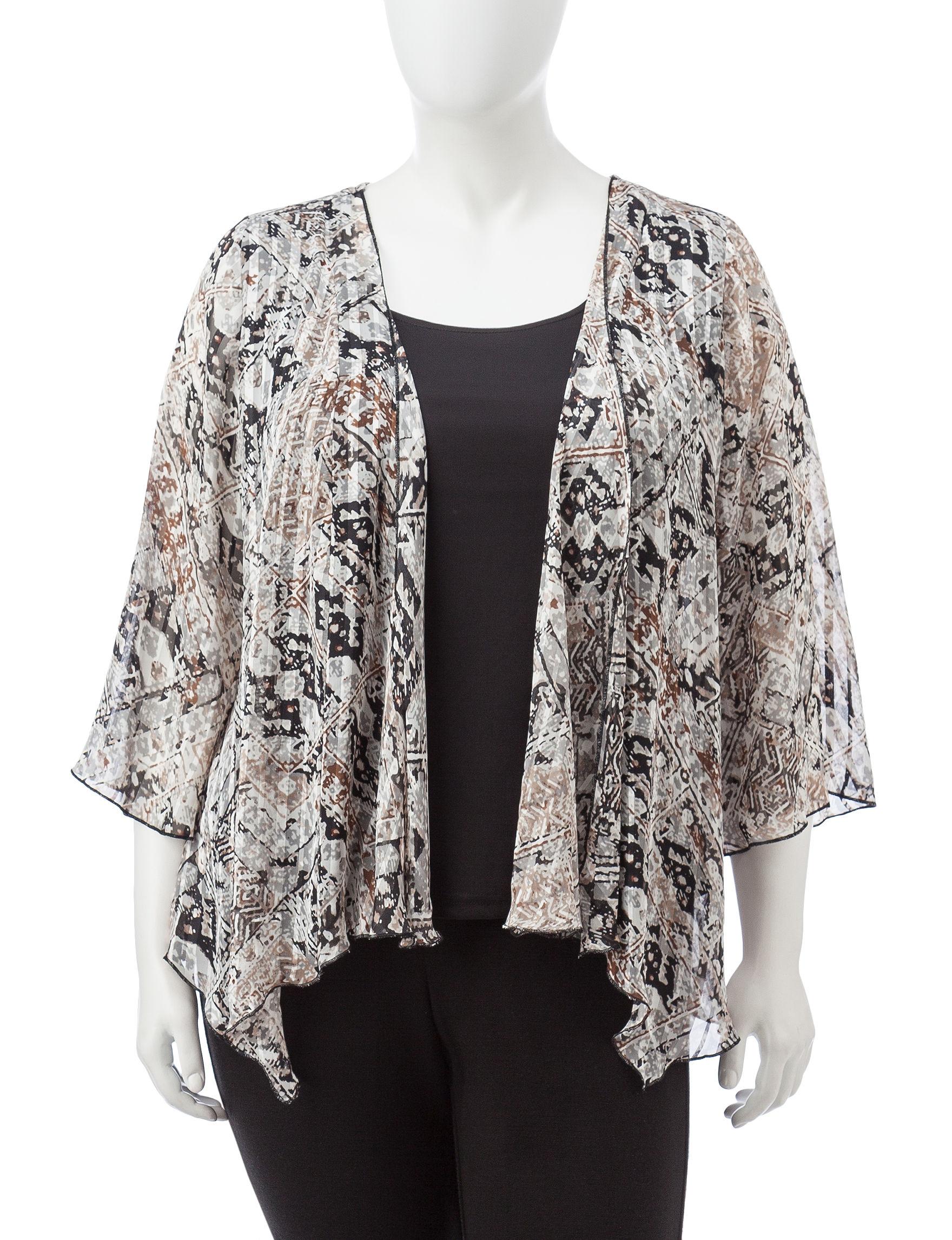 Sara Michelle Brown Shirts & Blouses