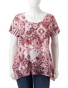 Rebecca Malone Blush Shirts & Blouses
