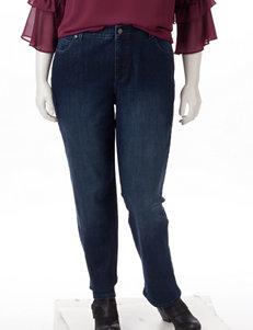 Gloria Vanderbilt Medium Blue Straight