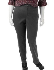 Gloria Vanderbilt Grey Straight