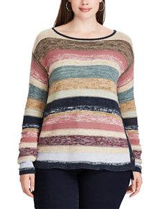 Chaps Beige Sweaters
