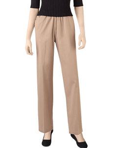 Rebecca Malone Petite Solid Color Twill Putter Pants