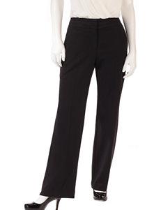 Zac & Rachel Petite Black Bi-Stretch Dress Pants