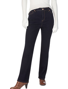 Gloria Vanderbilt Petite Amanda Average-Length Basic Jeans