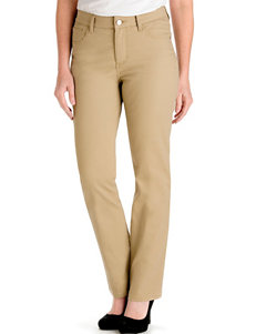 Lee Petite Travertine Classic Straight Leg Jeans