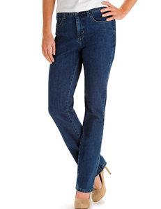 Lee Petite Seattle Wash Straight Leg Jeans