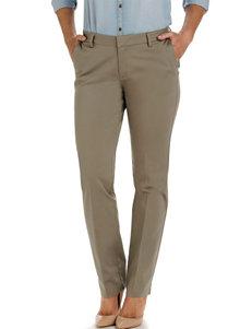 Lee® Petite Porcini Modern Curvy Straight Leg Pants