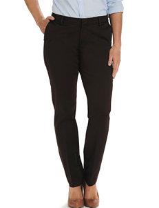 Lee Petite Roasted Chestnut Modern Curvy Straight Leg Pants