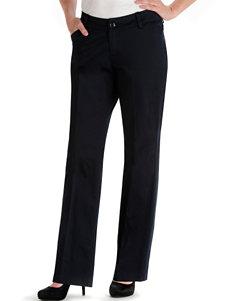 Lee Petite Imperial Blue Maxwell Curvy Twill Pants