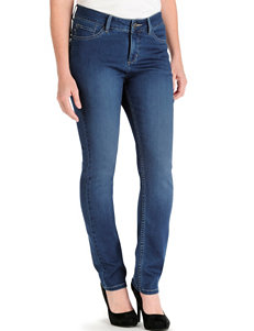 Lee Petite Easy Fit Medium Dark Wash Frenchie Skinny Jeans