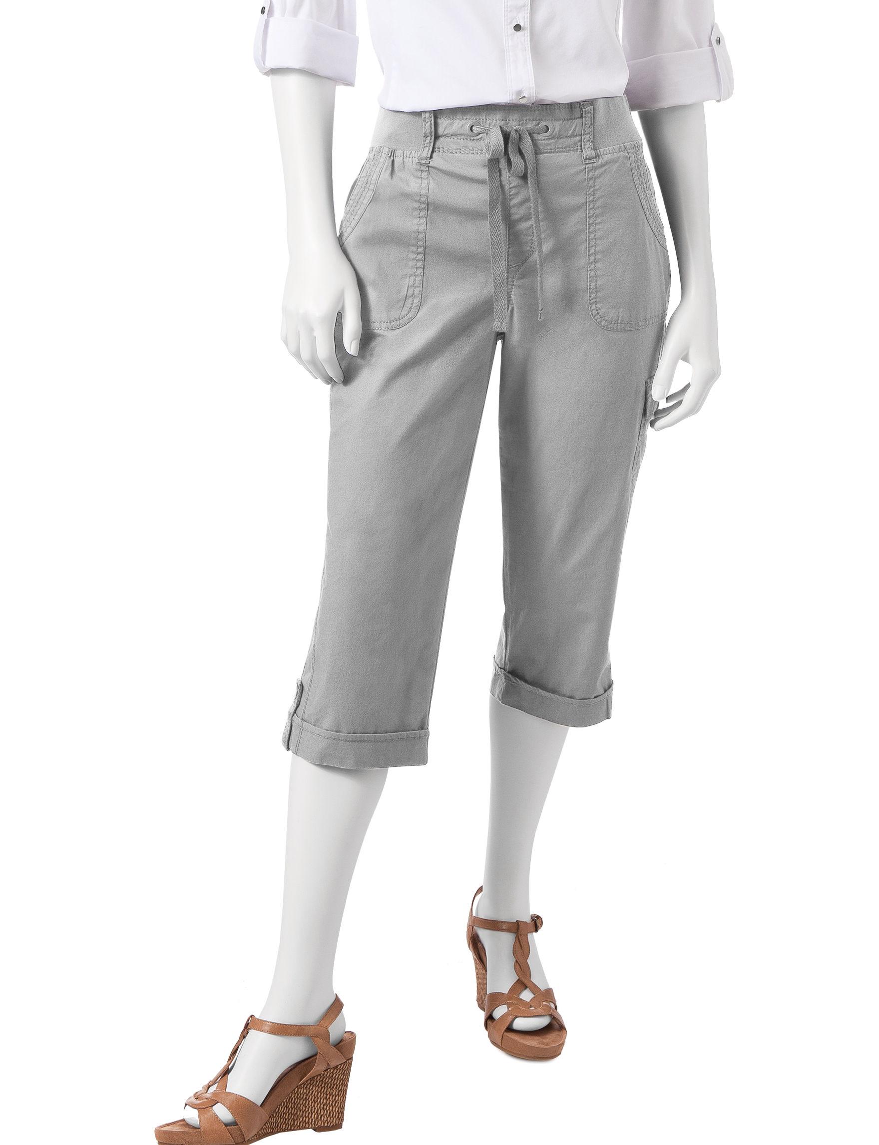 Gloria Vanderbilt Grey Capris & Crops