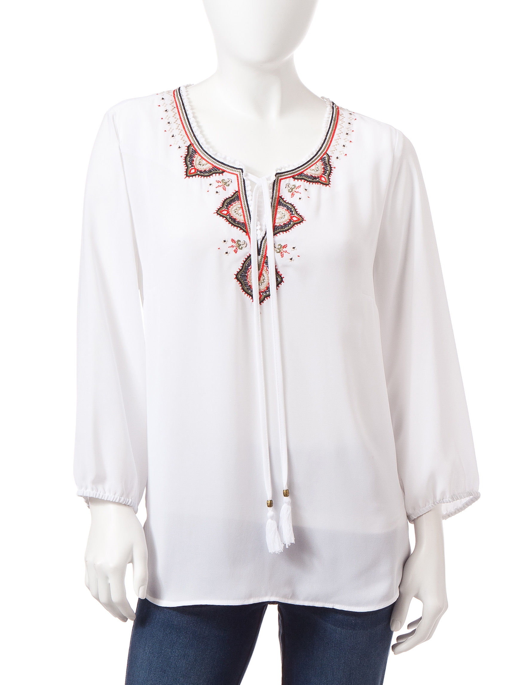 Signature Studio White Shirts & Blouses