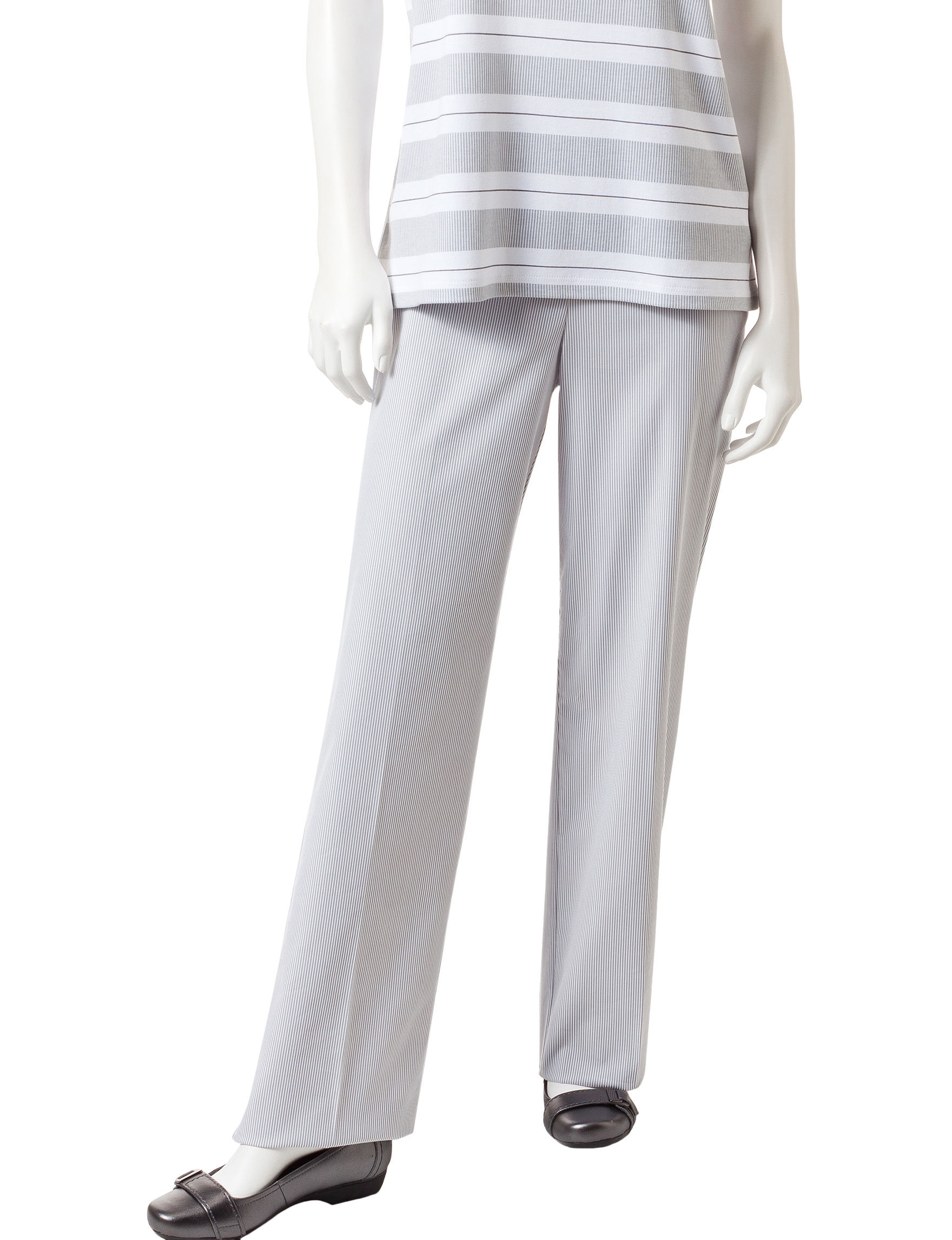Alfred Dunner White / Grey