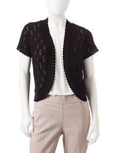 NY Collection Petite Bolero Shrug Sweater