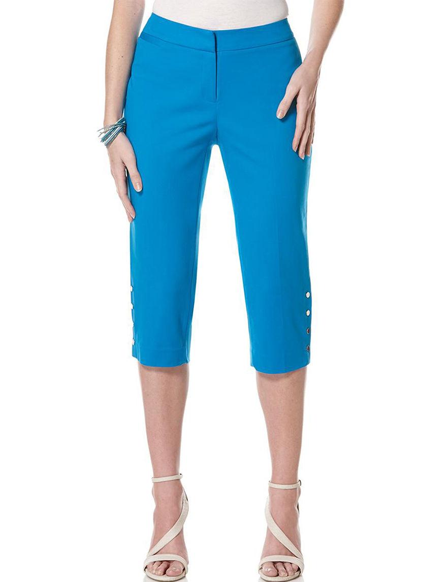 Rafaella Blue Capris & Crops