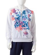 Cathy Daniels Petite Floral Print Jacket