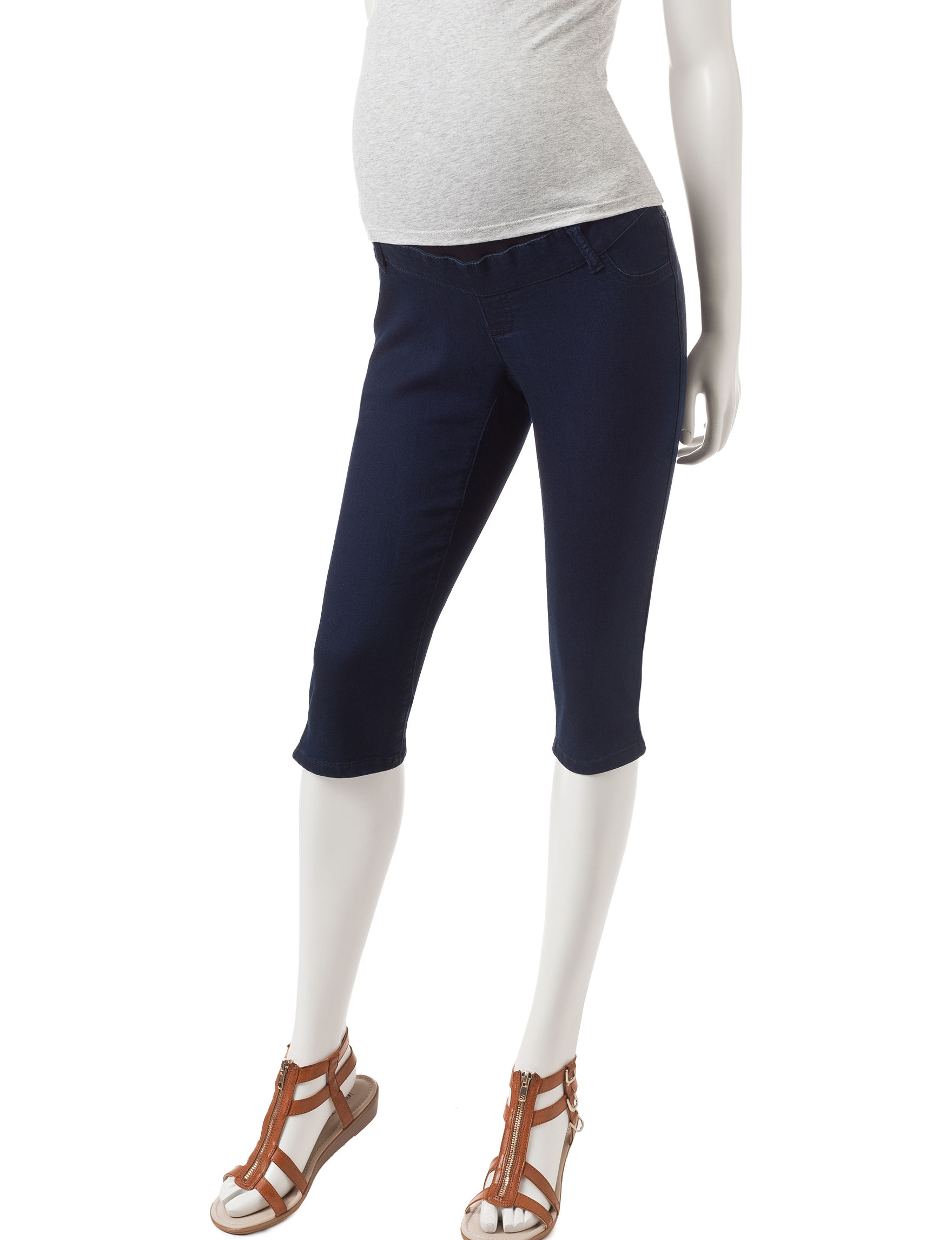 First Kick Blue Capris & Crops
