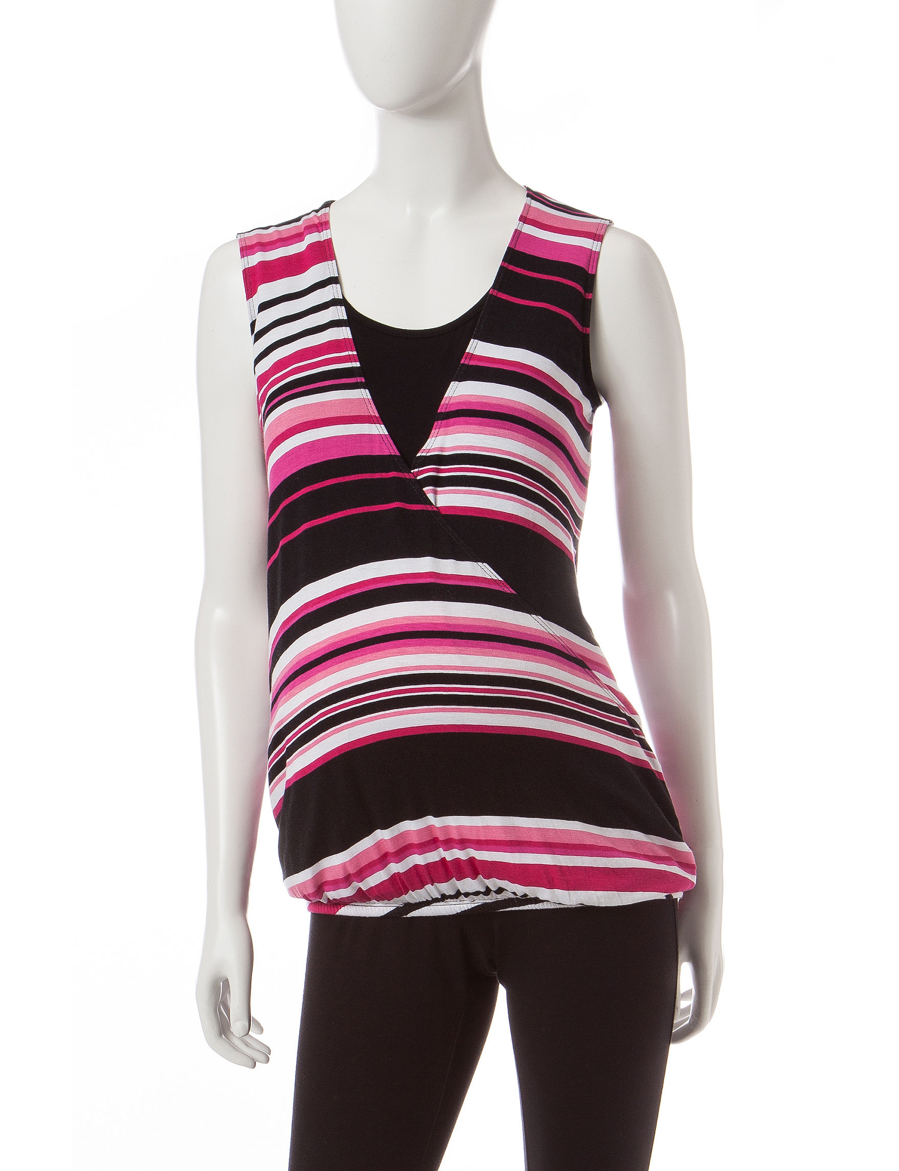 Three Season Maternity Pink / Black