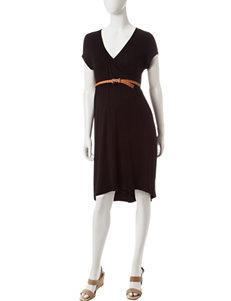 Three Season Maternity Hi-Lo Dress