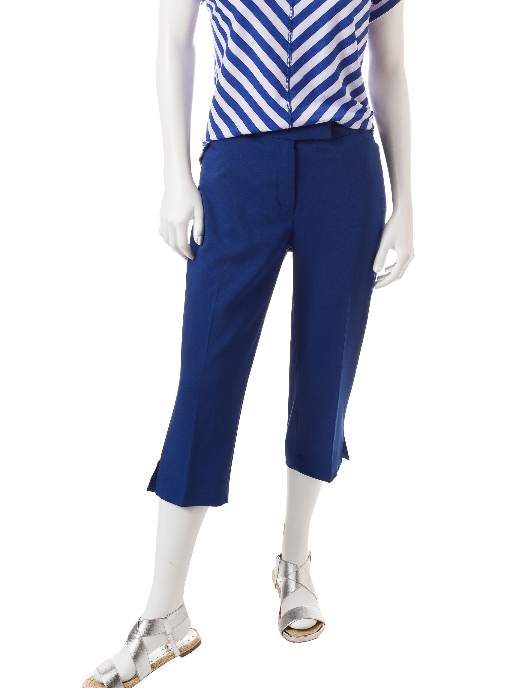 Ruby Road Blue Capris & Crops