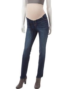 Three Seasons Maternity Dark Wash Skinny Jeans