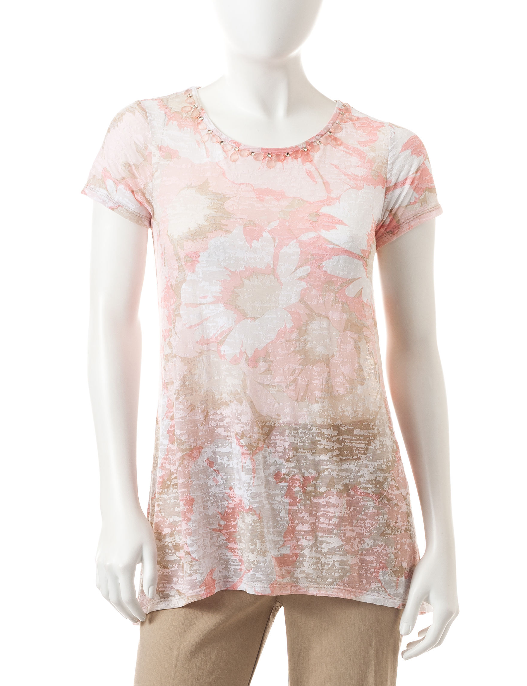 Ruby Road Blush Tees & Tanks