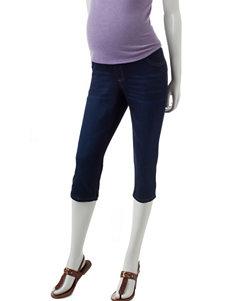 First Kick Dark Wash Skinny Maternity Jeans