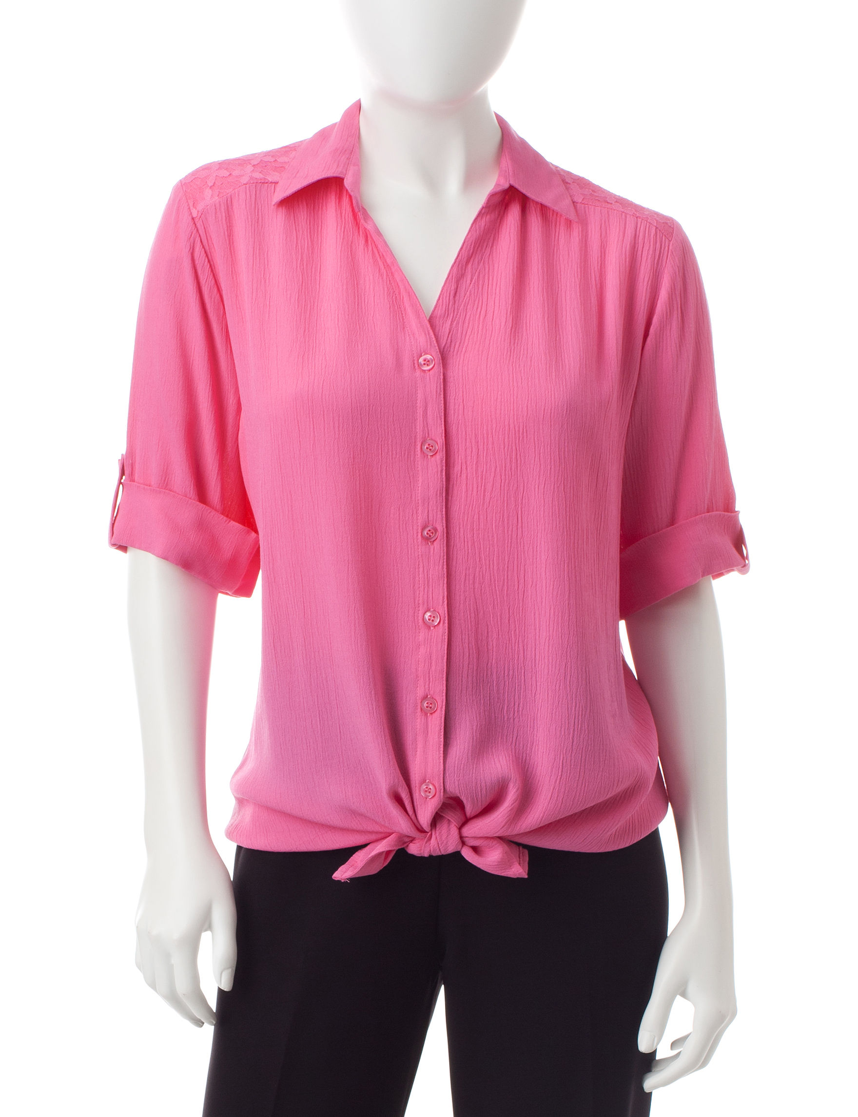 Cathy Daniels Pink Shirts & Blouses