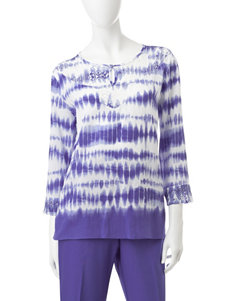 Alfred Dunner Purple