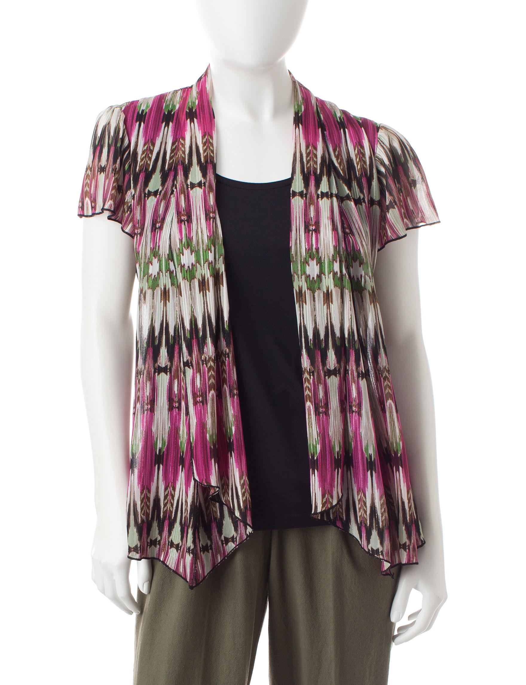Rebecca Malone Green / Pink Shirts & Blouses