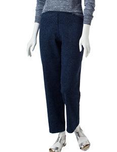 Cathy Daniels Petite Paisley Print Shorth Length Jeans