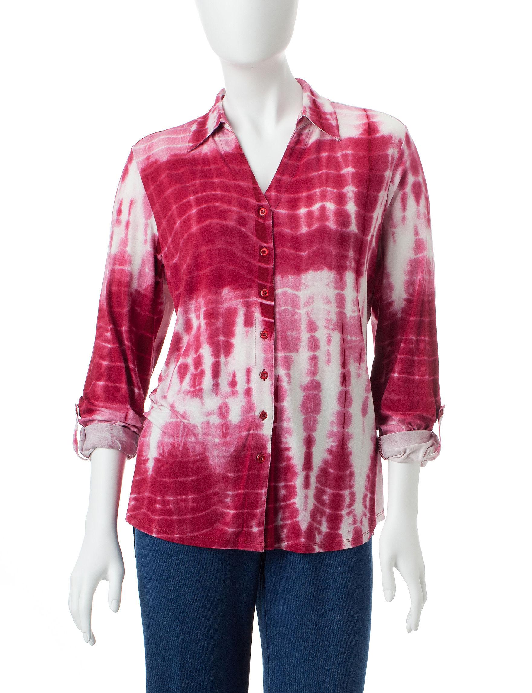 Cathy Daniels Black Shirts & Blouses