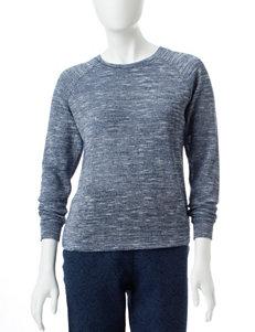 Cathy Daniels Petite Space Dye Knit Sweater