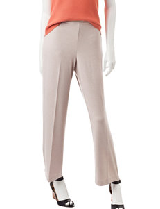 Alfred Dunner Petite Proportioned Medium Length Pants