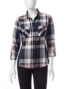 Zac & Rachel Blue Shirts & Blouses