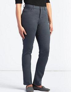 Lee Petite Monroe Twill Straight Leg Jeans