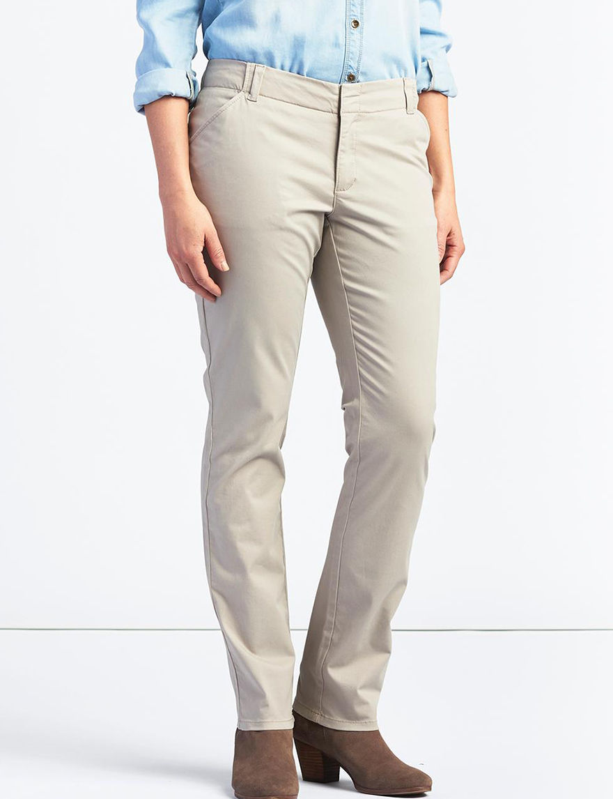 Lee Grey Soft Pants