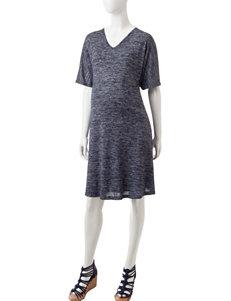 Three Seasons Maternity Marled Knit Dress