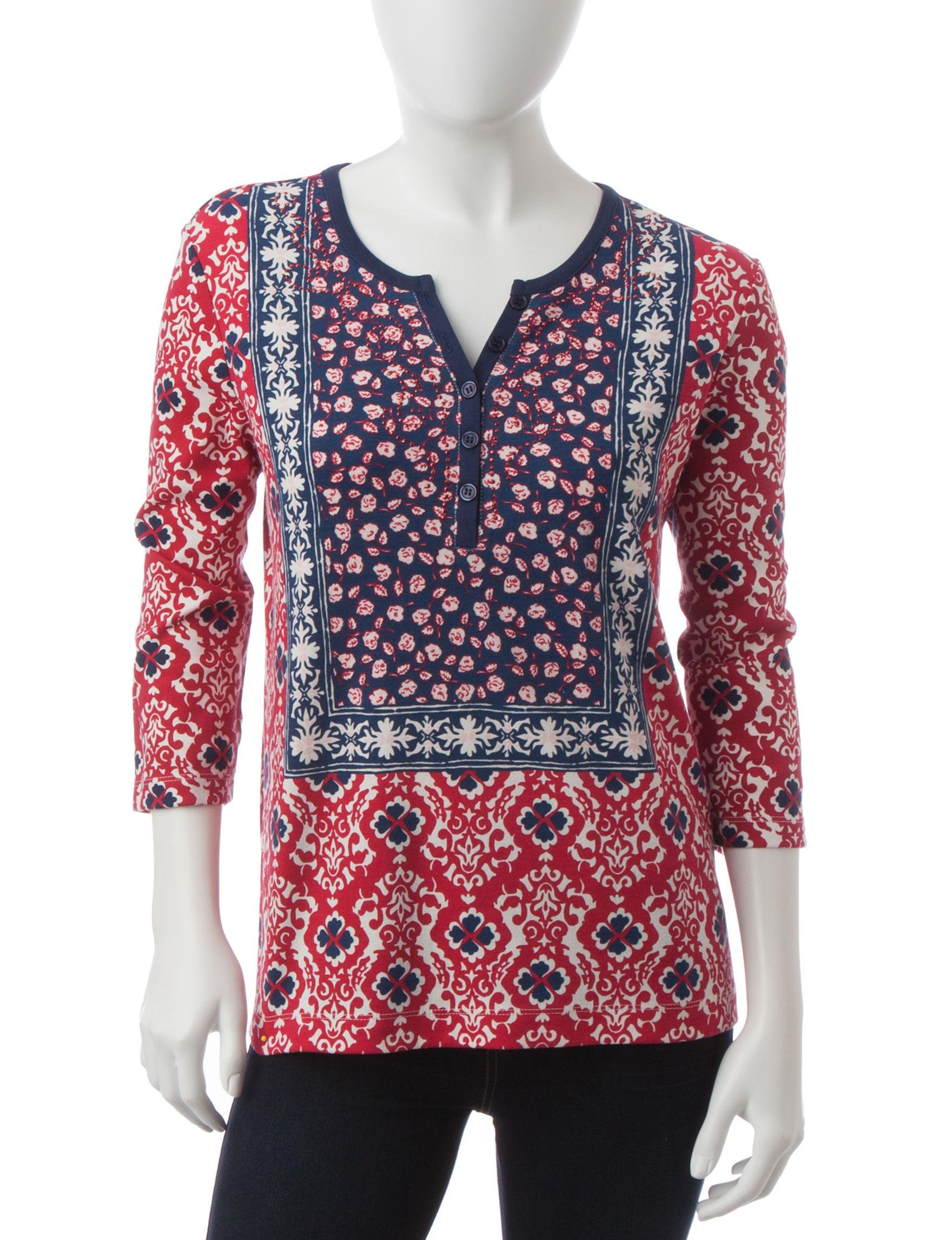 Rebecca Malone Indigo Shirts & Blouses