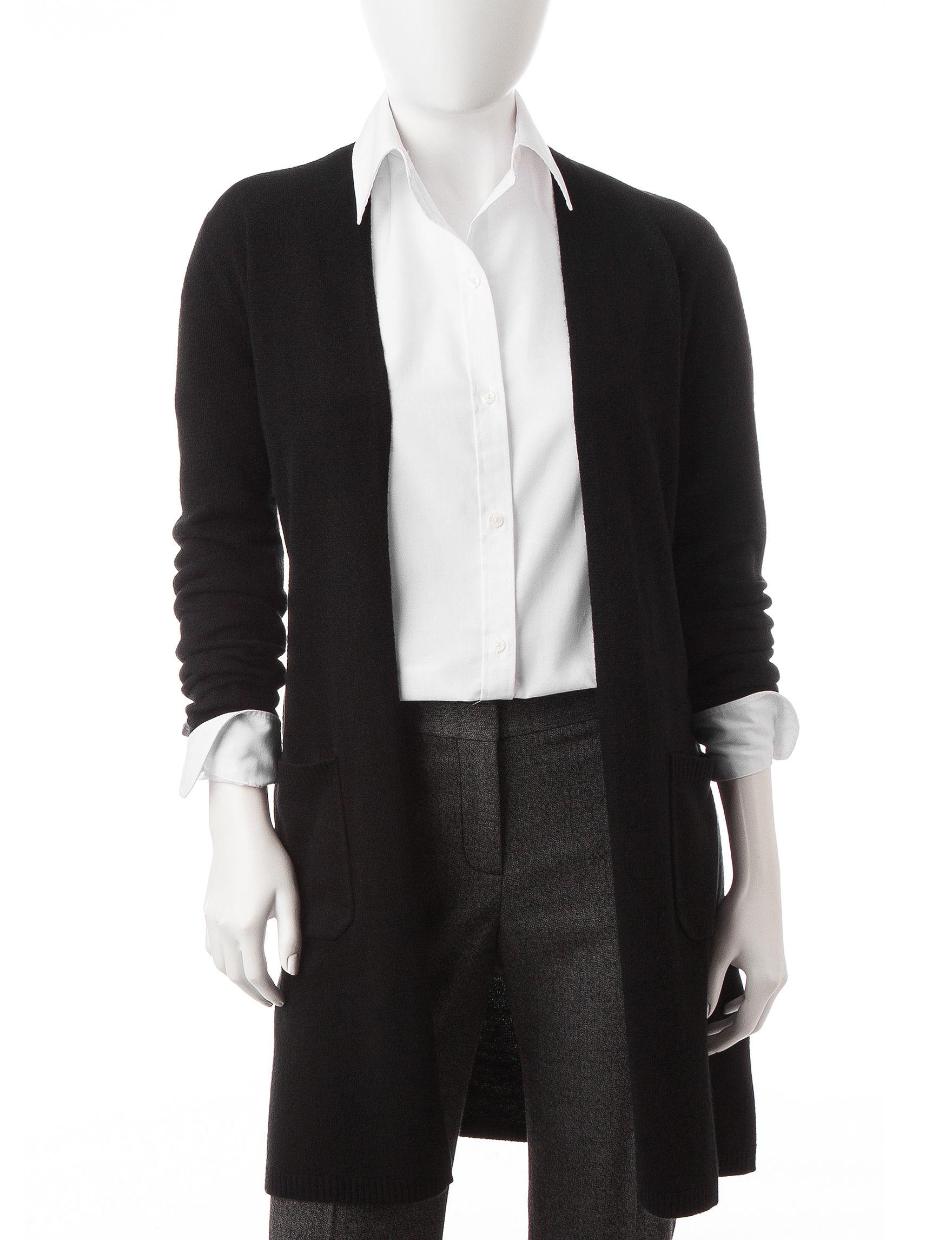 Rebecca Malone Black Cardigans Sweaters