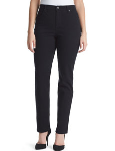 Gloria Vanderbilt Black Relaxed