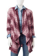 Signature Studio Petite Striped Ombre Cardigan