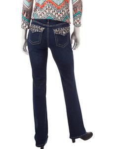 Earl Jean Petite Bling Bootcut Jeans