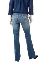 Earl Jean Petite Medium Wash Bootcut Jeans