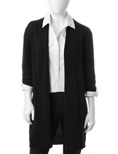 NY Collection Black Cardigans