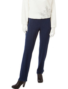 Alfred Dunner Petite Proportioned Short Length Pants