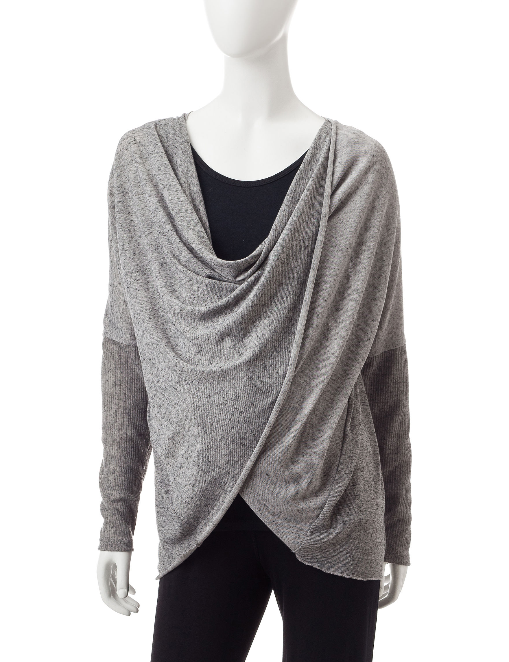 Three Season Maternity Heather Grey