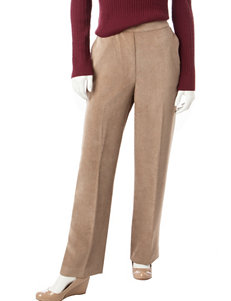Alfred Dunner Petite Corduroy Proportioned Medium Length Pants